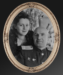 My grandfather on my mother's side was also a World War II hero, wounded three times and a survivor of the battle for Berlin.
