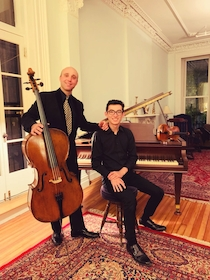 After recital in artistic collaboration with composer, Michael Shingo Crawford, in New York City.